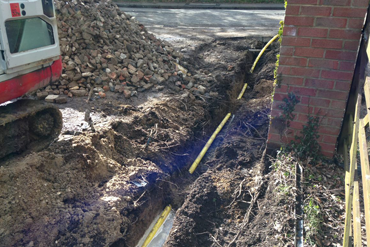 Gas Mains Install Project